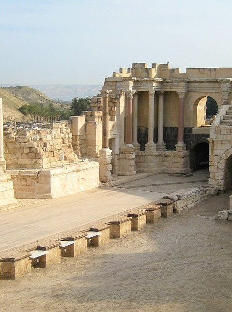 ancient roman ruins beit shean israel Visiting Israel on Taglit  Birthright: 10 amazing days in the holy land