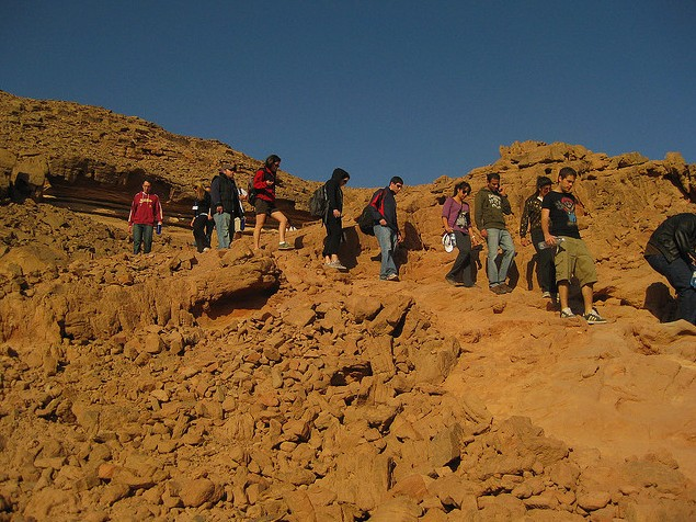 red mountains israel Visiting Israel on Taglit  Birthright: 10 amazing days in the holy land